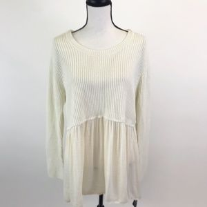 NWT Style&Co Tunic Sweater L